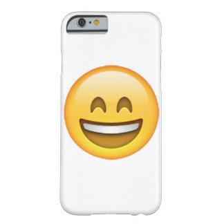 Funda Barely There iPhone 6 Emoji - ojos cerrados sonrisa