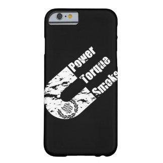 Funda Barely There iPhone 6 Esfuerzo de torsión del poder y caja diesel del