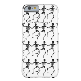 Funda Barely There iPhone 6 Esqueletos Halloween Thunder_Cove del baile