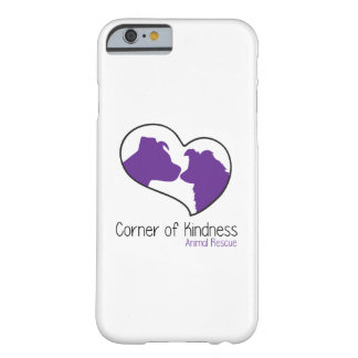 Funda Barely There iPhone 6 Esquina del caso del iPhone 6/6s de la amabilidad