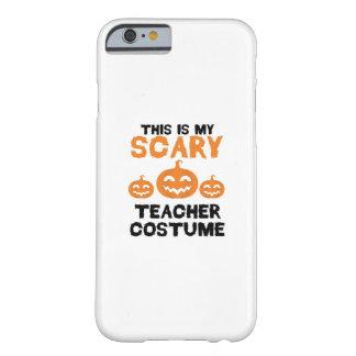 Funda Barely There iPhone 6 Éste es mi traje asustadizo Halloween del profesor