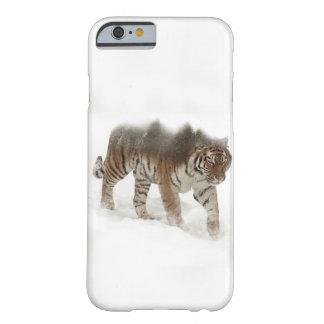 Funda Barely There iPhone 6 Exposición-fauna tigre-Tigre-doble siberiana