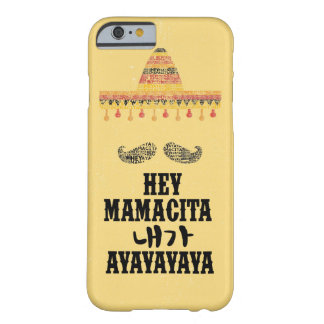 Funda Barely There iPhone 6 Ey Mamacita iphone6/6s