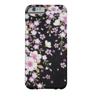 Funda Barely There iPhone 6 Falln que conecta en cascada las flores rosadas