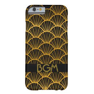 Funda Barely There iPhone 6 Fans del art déco con el monograma