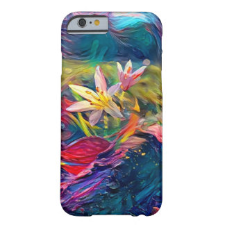 Funda Barely There iPhone 6 Flor artística