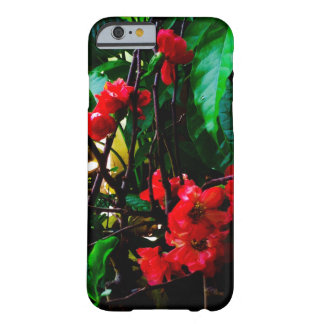 Funda Barely There iPhone 6 Flor rosada