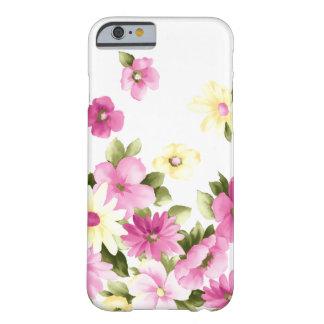Funda Barely There iPhone 6 Flores florecientes femeninas coloridas adorables