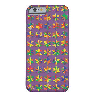 Funda Barely There iPhone 6 Flores mega del color