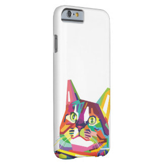 Funda Barely There iPhone 6 Gato de WPAP