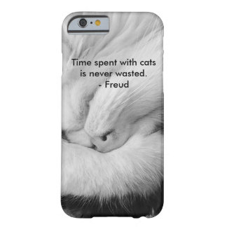 Funda Barely There iPhone 6 Gato en los teléfonos
