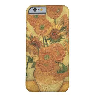 Funda Barely There iPhone 6 Girasoles de Vincent van Gogh el |, 1889
