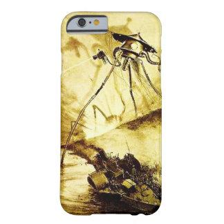 Funda Barely There iPhone 6 Guerra del trípode de los mundos - caso marciano
