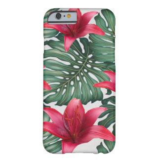 Funda Barely There iPhone 6 Hawaiian tropical adorable Hibiskus de la palma