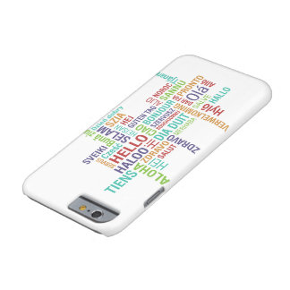 Funda Barely There iPhone 6 Hola