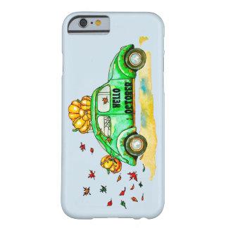 Funda Barely There iPhone 6 hola octubre