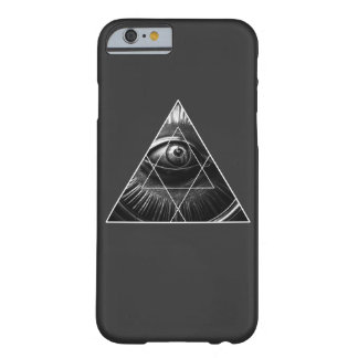 Funda Barely There iPhone 6 Illuminati simple