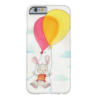 Funda Barely There iPhone 6 Ilustraciones grises lindas del Watercolour del