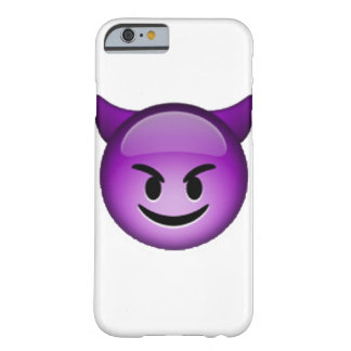 Funda Barely There iPhone 6 Imp sonriente - Emoji