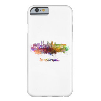 Funda Barely There iPhone 6 Innsbruck skyline in watercolor