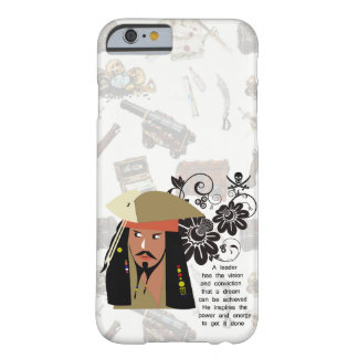 Funda Barely There iPhone 6 Inspiración de los piratas