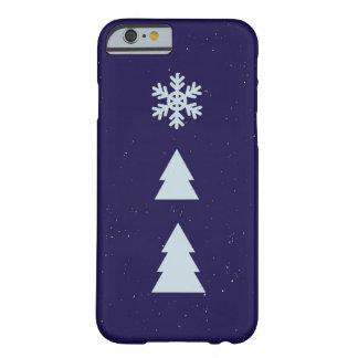 Funda Barely There iPhone 6 invierno