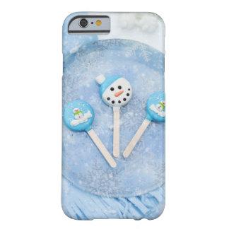 Funda Barely There iPhone 6 Invitaciones y chucherías de invierno