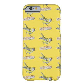 Funda Barely There iPhone 6 iPhone 6/6s, dibujo amarillo del pájaro de Barely