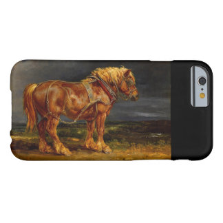 Funda Barely There iPhone 6 iPhone belga del caballo de proyecto, Samsung,
