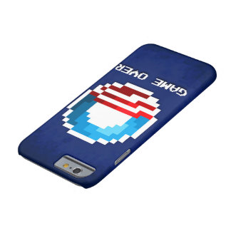 Funda Barely There iPhone 6 Juego sobre el caso del iPhone de Obama