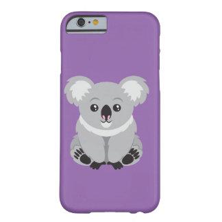 Funda Barely There iPhone 6 Koala del caso del teléfono
