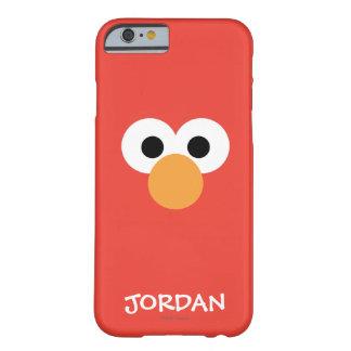 Funda Barely There iPhone 6 La cara grande el   de Elmo añade su nombre
