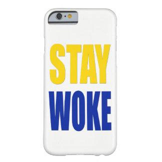 Funda Barely There iPhone 6 La estancia despertó el caso del iPhone - blanco