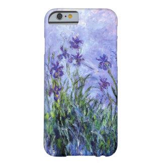 Funda Barely There iPhone 6 La lila de Monet irisa la caja del iPhone 6/6S