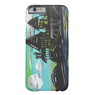 Funda Barely There iPhone 6 La luna #2 del amanecer