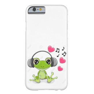 FUNDA BARELY THERE iPhone 6  LA MUSICA LLEVAS SIEMPRE