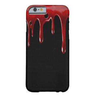 Funda Barely There iPhone 6 La sangre de Falln gotea negro