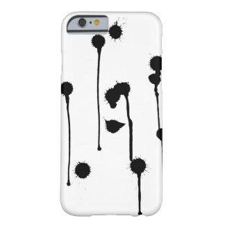Funda Barely There iPhone 6 La tinta mancha la caja del iPhone 6/6s