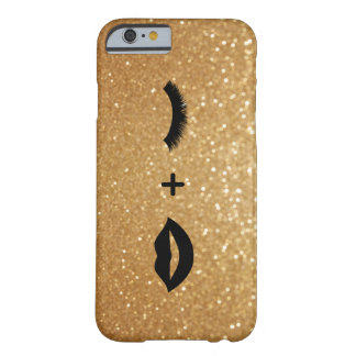 Funda Barely There iPhone 6 Labios + Latigazos gráficos