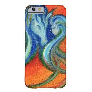 Funda Barely There iPhone 6 Lago de Fyrelyte, para el amor de un caballo