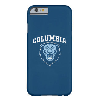 Funda Barely There iPhone 6 Leones de la Universidad de Columbia el | -
