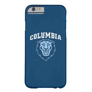 Funda Barely There iPhone 6 Leones de la Universidad de Columbia el |