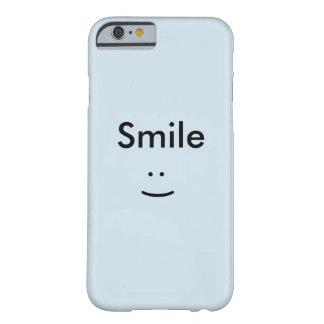Funda Barely There iPhone 6 Liso, elegante, ajuste de forma, ligero