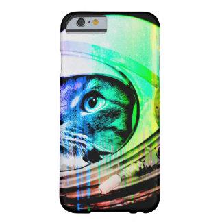 Funda Barely There iPhone 6 los gatos coloridos - astronauta del gato -