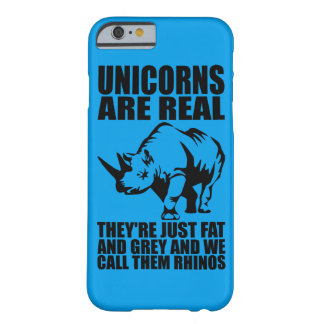 Funda Barely There iPhone 6 Los unicornios son - son Rhinos - novedad