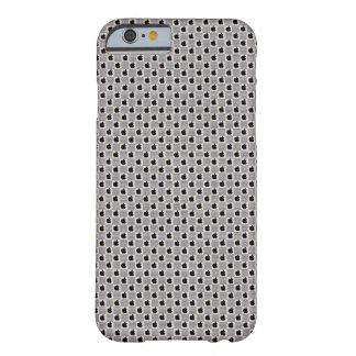 Funda Barely There iPhone 6 Louis Vuitton gris diseña el caso