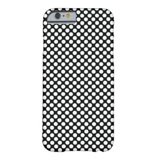 Funda Barely There iPhone 6 Lunar (negro y blanco) cualquier personalizable