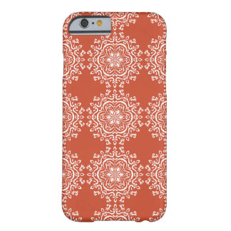 Funda Barely There iPhone 6 Mandala de la terracota