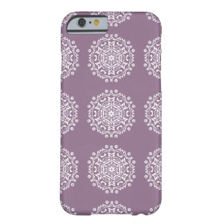 Funda Barely There iPhone 6 Mandala de las glicinias