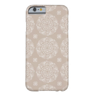 Funda Barely There iPhone 6 Mandala de las lanas